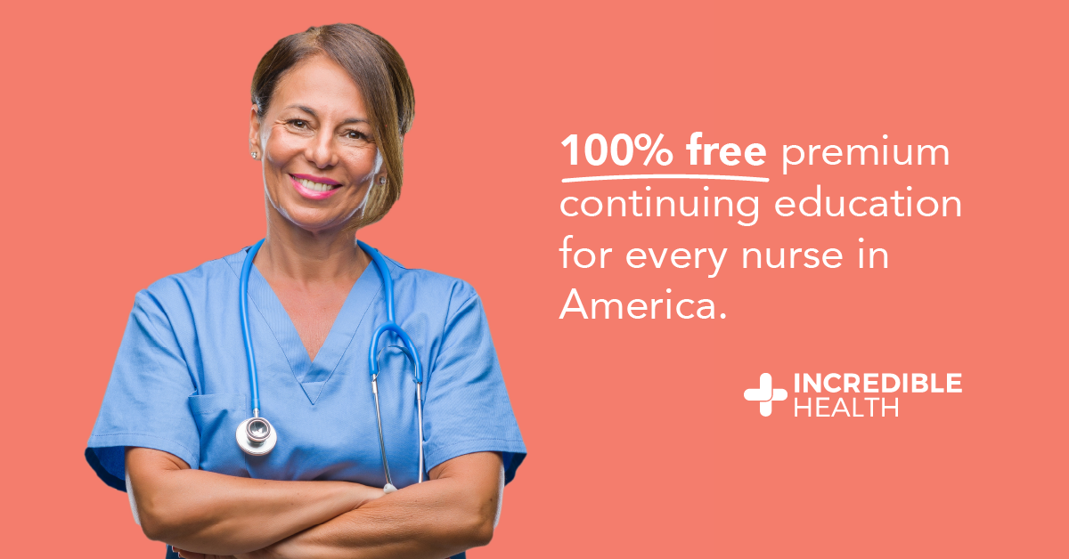 free online continuing education for nurses